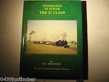 New South Wales Railways The 32 Class Engines..R G Preston Hardcover As New