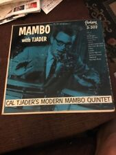 Mambo With Cal Tjader Quintet Jazz Original Burgundy Label  vinyl album