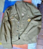 AUSTRALIAN ARMY BATTLE JACKET SMALL SIZE GOOD CONDITION SEE ALL PICS MADE 1981
