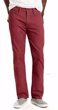 Men's Levis Jeans 513 Size 38x32 Slim Straight Stretch Chocolate Truffle nwt