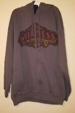 Guinness Men Women Unisex Long Sleeve Jacket Hoodie XL Extra Large Zipper