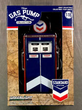 GREENLIGHT COLLECTORS VINTAGE GAS PUMP STANDARD STATION 1:18 SCALE FREE SHIP