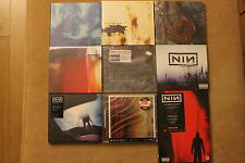 Nine Inch Nails - LOT OF 8 CD's + DVD - POLISH STICKERS