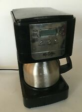 Black & Grey MR COFFE Coffee Maker Model Nu JWX9 E1