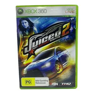 Juiced 2: Hot Import Nights for Xbox 360 - Complete w Manual - Tested & Working