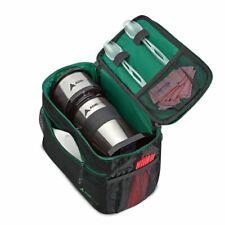 AdirChef Black and Green Grab & Go Coffee Maker Storage Bag Travel Pouch