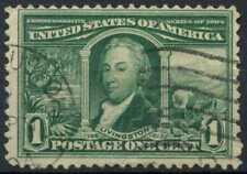 USA 1904 SG#330, 1c St. Louis Exposition, R.R. Livingston Used #E2140