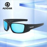 KDEAM Men TR90 Polarized Sunglasses Outdoor Driving Fishing Cycling Glasses New