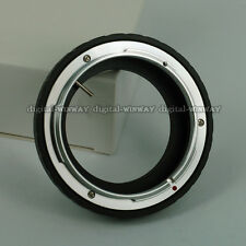 No Glass CANON FD Lens to Nikon DSLR Camera Body Adapter Ring For Macro Shot