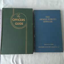 Book Officers Guide Armed Forces Officer Defense Department Army 21St Ed 1950'S