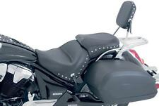 Mustang - 75920 - Wide Touring Two-Piece Seat, Studded