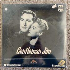 Gentlemen Jim Laserdisc - Errol Flynn - RARE - BRAND NEW