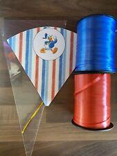10 Donald Duck  Birthday DIY Party Cones