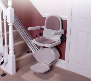 Slimline Stairlift for straight stairs,installation + 24 month warranty
