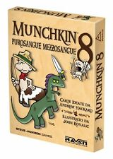 Munchkin 8 - Purosangue Mezzosangue - party game gioco da tavolo Raven italiano