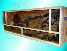 Terrarium 200x80x80 Holzterrarium OSB Holzterrarium; auch 200x80x100 erhältlich
