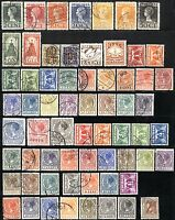 64 NETHERLANDS Stamps Postage Collection 1923-1928 USED
