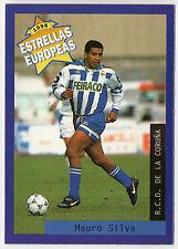 Panini 1996 Estrellas Europeas Spanish Issue Card Silva R.C.D. De La Coruna