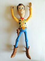 "Disney Pixar Toy Story Sheriff Cowboy Woody 7"" Action Figure with Lasso Action"