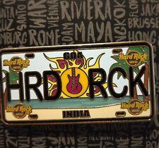 Hard Rock Cafe Hotel License Pin/Plate Series Goa India #99770
