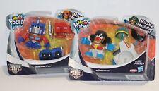 Mr Potato Head-mezclables nuestro Héroes Rescue Bots de transformador