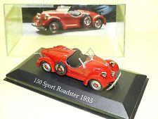 MERCEDES 150 SPORT ROADSTER 1935 Rouge ALTAYA 1:43 défaut socle