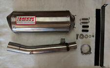YAMAHA FZS 600 FAZER 1998/03 EXHAUST HARRIS WORKS COLLECTION SLIP ON ROAD LEGAL