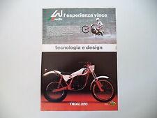 advertising Pubblicità 1982 MOTO APRILIA TRIAL 320