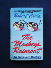 THE MONKEY'S RAINCOAT - SIGNED by ROBERT CRAIS - His 1st Book & 1st Elvis Cole