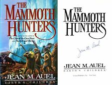 Jean Auel~SIGNED~Mammoth Hunters~RARE~TRUE 1st/1st HC