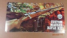 1970'S CVA CUSTOM MAUSER RIFLE KIT  brochure DEALER PRICE