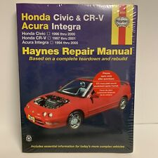 Haynes Repair Manuel 42025 Honda Civic & CR-V Acura Integra  1996-2000