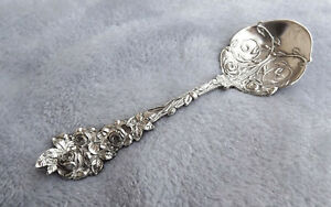 """Jack Rose by Paye and Baker 5 1/2"""" Sterling sugar spoon no mono Very Rare"""
