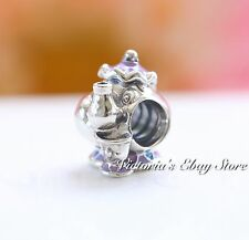 AUTHENTIC DISNEY Beauty & Beast MRS POTTS & CHIP PANDORA Charm 792141ENMX