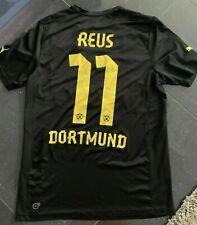 Puma Borussia Dortmund Trikot 11 Marko Reus Schwarz Auswärts Evonik Herren M