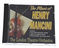 THE MUSIC OF HENRY MANCINI LONDON THEATRE ORCHESTRA Rare CD Album -Complete, VGC