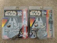 Star Wars collector timepiece Boba Fett's - R2D2 watch w/ Millennium Falcon Case