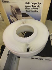Slide projector carousel for HANIMEX all La Ronde model 120 slides NO SPILL TYPE