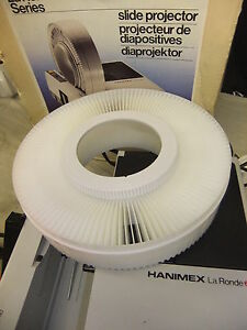 Slide projector carousel for HANIMEX La Ronde 120 slide NO SPILL used once boxed