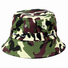 Men Ladies Bush Bucket Boonie Hat Outdoor Festival Fishing Summer Sun Beach Cap