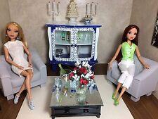 BARBIE,vintage DRESSER,ADULT MINIATURES,DIORAMA,cupboard/armoire/cabinet