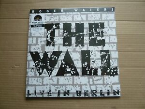 ROGER WATERS - THE WALL LIVE IN BERLIN - 2LP CLEAR VINYL - RSD 2020 - PINK FLOYD
