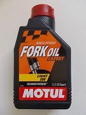 MOTUL FORK OIL EXPERT 5W OLIO IDRAULICO PER FORCELLE GRADAZIONE 5W