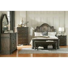 Coaster 204042 Carlsbad Night Stand With 3 Drawers Dark Brown Finish