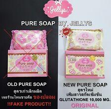 Pure Soap Jellys Whitening Skin Aging Gluta Anti Body Beauty Lightening White