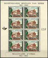 Belgium 1962 SG#MS1840 Millenary Of Ypres MNH M/S #D33213