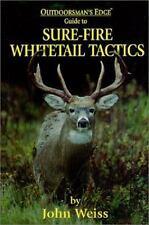 Sure-Fire Whitetail Tactics, John Weiss, New Books