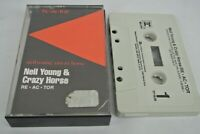 Neil Young & Crazy Horse RE-AC-TOR ~ CASSETTE 1981