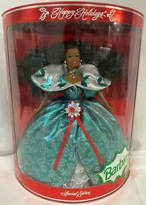 1995 HAPPY HOLIDAYS SPECIAL EDITION AFRICAN AMERICAN BARBIE