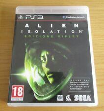 ALIEN ISOLATION PS3 - Edizione Ripley